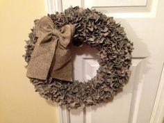 Military ACU wreath on Etsy, $50.00