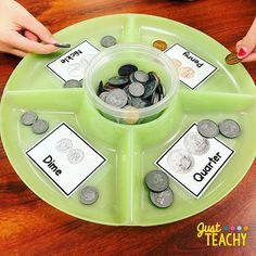 Identifying coins can be tricky for Kinders, so I made this super easy Math center to practice identifying and sorting coins.😁 . . #texasteachers #teachersfollowteachers #iteachk #kindergartenmath #texasteachertribe #teachersofinsta #kindergarten #Regram via @BqGiqmhh8ow