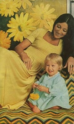 Cher with her child