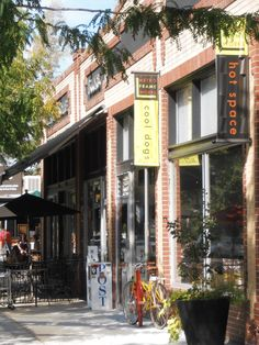 "The Berkeley neighborhood in northwest Denver, most recent to become a ""hot spot.""  Mix of trendy and Mom-n-Pop."