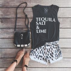 """""""taco tuesday essentials // tequila, salt, lime + maybe some guac + chips? • #shoplunab"""""""