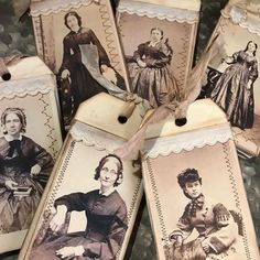 New Art Journal Vintage Tags Ideas Antique Books, Vintage Books, Vintage Photos, Vintage Journals, Altered Books, Altered Art, Decoupage, Paper Art, Paper Crafts