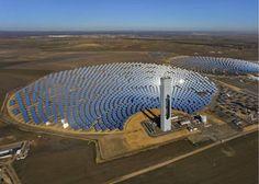 Chile construye planta solar que va a producir energía las 24 horas del día