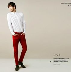 c909518ae6cd 89 meilleures images du tableau Men in Red Trousers   Man fashion ...