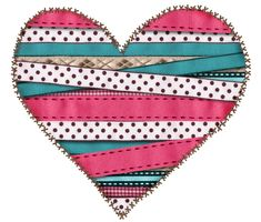 Stripe heart Heart Of Life, I Love Heart, Happy Heart, My Heart, Clipart Baby, Cute Clipart, Heart Clip Art, Baby Clip Art, Digital Scrapbooking Freebies