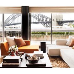 John McGrath's Luxurious Sydney Harbour Apartment, Real-estate guru and media personality John McGrath recently bought a loft-style apartment on one of Sydney's historic finger wharves, the fourth he has owned in the building.