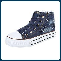 separation shoes d984c b02c3 High-Top Sneaker Damen-Schuhe High-Top Sneakers Schnürsenkel Ital-Design  Freizeitschuhe Dunkelblau, Gr 39, 6325-Y- - Sneakers für frauen  ( Partner-Link)
