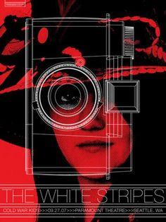 The White Stripes (Seattle II) by Rob Jones