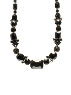 Bold Multi Crystal Classic Necklace in Midnight Moon by Sorrelli
