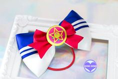 Sailor Moon Crystal Star Hair Bow by DOKIDOKIHK on Etsy