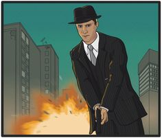 Cole Phelps by Wishii on DeviantArt