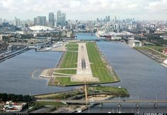 London City (LCY) runway | ✈ Follow civil aviation on AerialTimes. Visit our boards on pinterest.com/aerialtimes or like us on www.facebook.com/aerialtimes