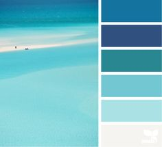 Likes, 18 Comments - Design Seeds® Design Seeds, Vacation Images, Ocean Colors, Beach Color, Colour Schemes, Color Combos, Color Harmony, Coordinating Colors, Color Stories