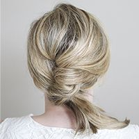 Kate from The Small Things blog shares her step-by-step instructions for getting this chic hairstyle, created exclusively for Birchbox.