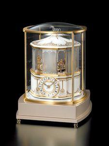 高級置き時計SEIKODECOR(セイコーデコール)音と光の幻想的なメリーゴーラウンドAZ518G