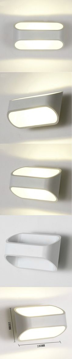 Modern led wall lights for bedroom balcony kids room Hardware+Acrylic 5W home decoration wall lamp free shipping