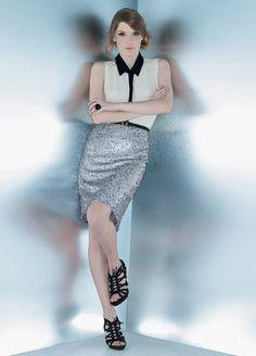 Hora de brilhar - Moda, Beleza, Estilo, Customizaçao e Receitas - Manequim - Editora Abril - Fotos: Lamb Taylor