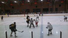 Burr & Burton Hockey Teams Annual Students vs. Staff Hockey Game Fundraiser at Riley Rink.