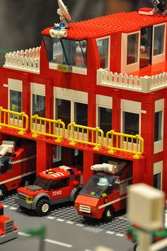 Fire Station by brick-apocalypse, via Flickr