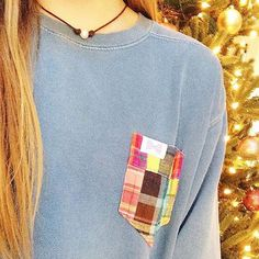 Rockin' around the Christmas tree with our fav pocket tees 🎄 #FraternityCollection #PocketTee