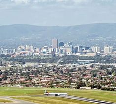 Adelaide - A sophisticated and cosmopolitan city nestled between the hills and the sea Adelaide runs north and south along the coast as well as extending back into the dress circle of the Hills. With Mediterranean weather it is a pleasant place to live. (MM)