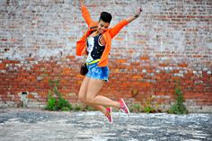 Pair a casual pair of shorts with a bold jacket in a vibrant color for a fun, polished look.   - Seventeen.com