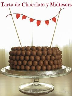 Tarta de Chocolate y Maltesers, Let them eat cake, cake