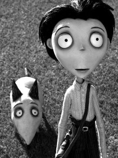 Frankenweenie - victor reminds me of Logan