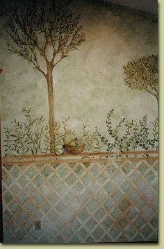 Pompeii Fresco Ancient Pompeii, Pompeii Ruins, Pompeii Italy, Pompeii And Herculaneum, Ancient Art, Ancient History, Fresco, Rome Painting, Roman Garden