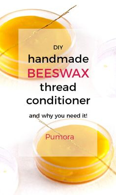 Embroidery Stitches Tutorial DIY homemade beeswax thread conditioner by Pumora DIY, embroidery, crafts Embroidery Tools, Embroidery Stitches Tutorial, Embroidery On Clothes, Hand Embroidery Patterns, Embroidery Techniques, Lace Embroidery, Sewing Patterns, Diy Conditioner, Diy Wax