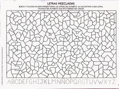 50 atividades com letras do alfabeto para educação infantil - Como Fazer School Worksheets, Worksheets For Kids, Geometric Coloring Pages, Learn Portuguese, Vision Therapy, English Alphabet, Preschool Letters, Early Literacy, Play To Learn