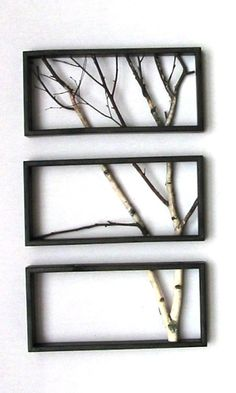Branch Art--I wonder if I could make something like this?
