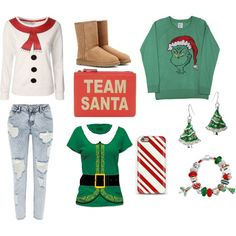 """Christmas isn't gone yet...."" Christmas hasn't left yet....so wear some of these outfits before it's too LATE!"