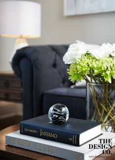 neutral interior, chesterfield sofa, coffee table styling
