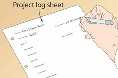 Use a log book to track what you did on a project, along with supplies, etc.