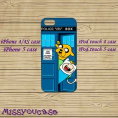 iphone 4 case,iphone 4s case,cute iphone 4 case,iphone 5 case,cute iphone 5 case,adventure time tardis dr who,cool iphone 5 case,ipod 5 case by Missyoucase, $12.95