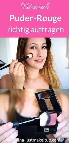 Puderrouge richtig auftragen Makeup Tutorial