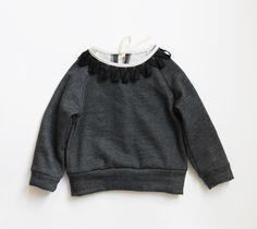 Lieschen Mueller - would be a cute way to upcycle a plain sweatshirt