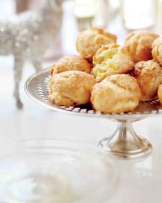 Thanksgiving Appetizers: Three-Cheese Gougeres