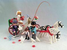 Vintage Playmobil Victorian Wedding Carriage Set 5601 1st Edition Complete | eBay
