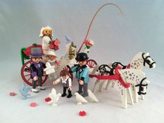 Vintage Playmobil Victorian Wedding Carriage Set 5601 1st Edition Complete | eBay