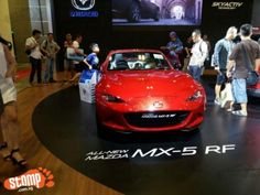 The super sleek and new Mazda MX-5 FD -- which people can't stop ogling