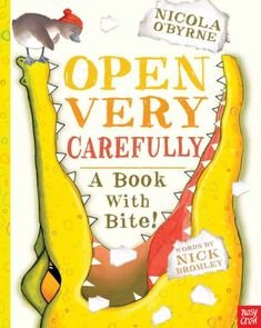 What would you do if you were settling down for a quiet bedtime story and you realized that a crocodile had fallen into your storybook and was — not to put too fine a point on it — wreaking havoc? Would you slam that book shut and cram it back onto the bookshelf? Or would you be brave enough to peek?