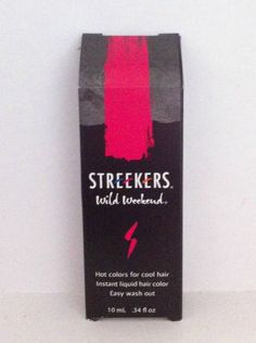 STREEKERS Temporary Hair Color Set of Four Shades #STREEKERS