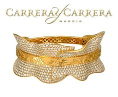Carrera y Carrera Jewelry Accessories, Jewelry Design, Gold Bangles Design, Fine Jewelry, Jewellery, Carrera, Cuff Bracelets, Beautiful, Shoes