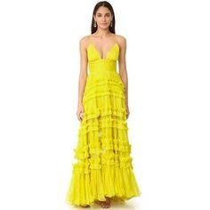 Maria Lucia Hohan Dalila Sleeveless Maxi Dress