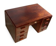 Art Deco Desk in Rosewood French Retro Furniture, Antique Furniture, Art Deco Desk, Mid Century Furniture, Desks, Office Desk, French, Live, Home Decor