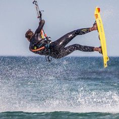 Peter Wollaston in action, Long Nanny, Beadnell, Northumberland.
