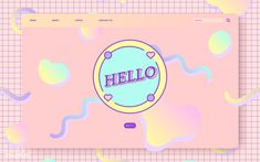 Pastel vectors, photos and psd files Web Design, Layout Design, Flat Design, Graphic Design Posters, Graphic Design Inspiration, Cute Website, Thumbnail Youtube, Pastel Designs, Powerpoint Background Design