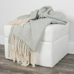 Throw Blankets Green - Rizzy Home Gender: Unisex. Throw Blankets Green - Rizzy Home Cotton Throws, Knitted Throws, Woven Cotton, Luxury Throws, My New Room, Comforter Sets, Bedding, Decorative Pillows, Home Decor
